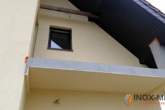 Balustrada nierdzewna profil 50 x 30