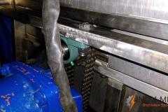 Przerobienie maszyny do mieszania mięsa - motoreduktor