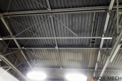 Wzmocnienie konstrukcji wiązarów oraz sufit techniczny